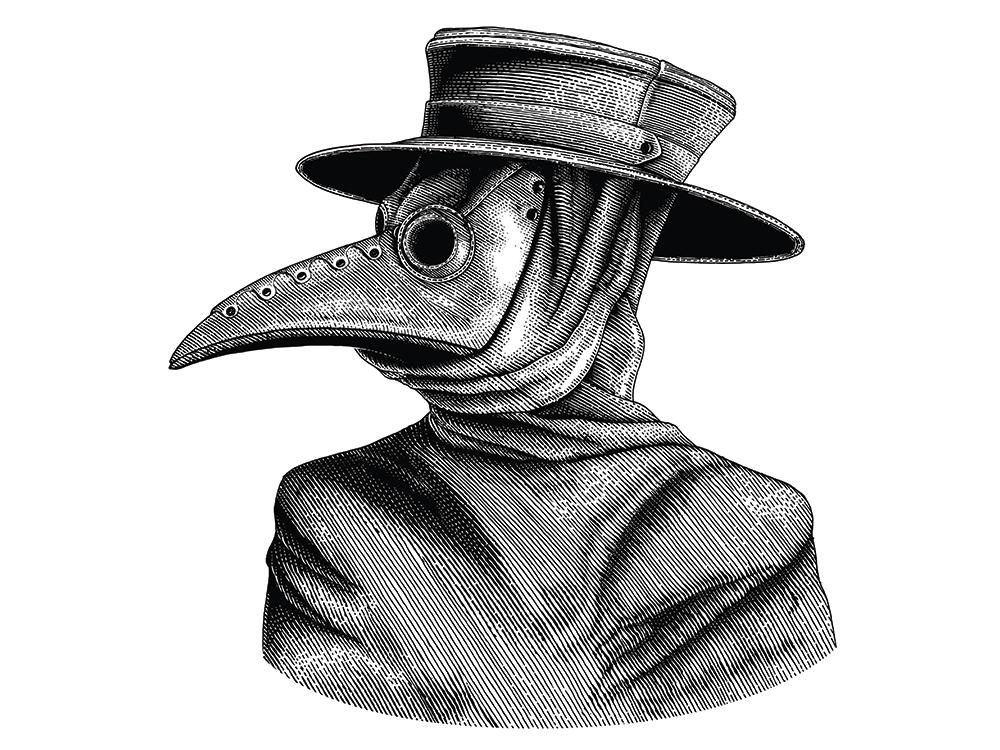 Peste Negra: A Máscara e a Ilha dos Mortos