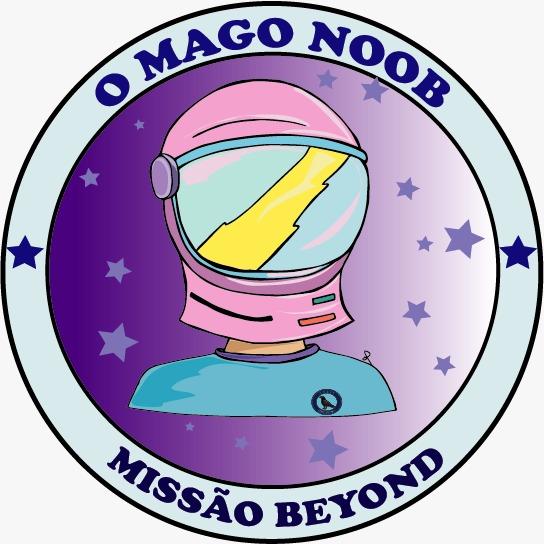 O Mago Noob Capacete astronalta