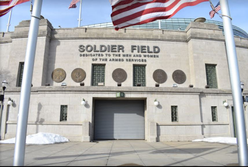 Solider Field - o Estádio do Chiago Bears e a Guerra
